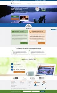 Right Choice Cremation Website Design