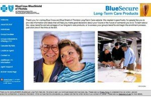 BlueCross BlueShield of Florida Website Design