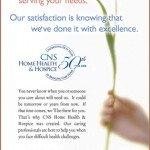 CNS Home Health & Hospice ad