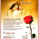 The Colonnade Million Roses hugging ad