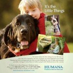 Humana Little Things Grandson Dog ad