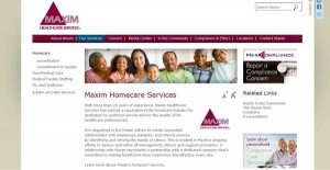 Maxim Healthcare Services Homecare websitewebsite