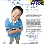 Wyndemere Senior Living Campus grandson park ad