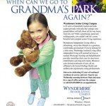 Wyndemere Senior Living Campus granddaughter teddy bear ad