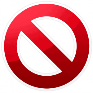 do-not-symbol-small