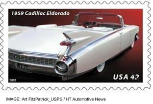 1959 Cadillac Eldorado stamp