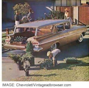 Vintage Chevy Ad