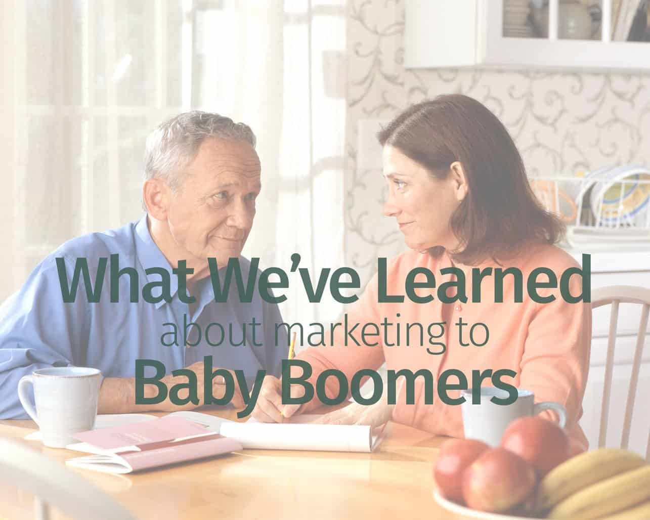 What We've Learned About Marketing To Baby Boomers - Part ...