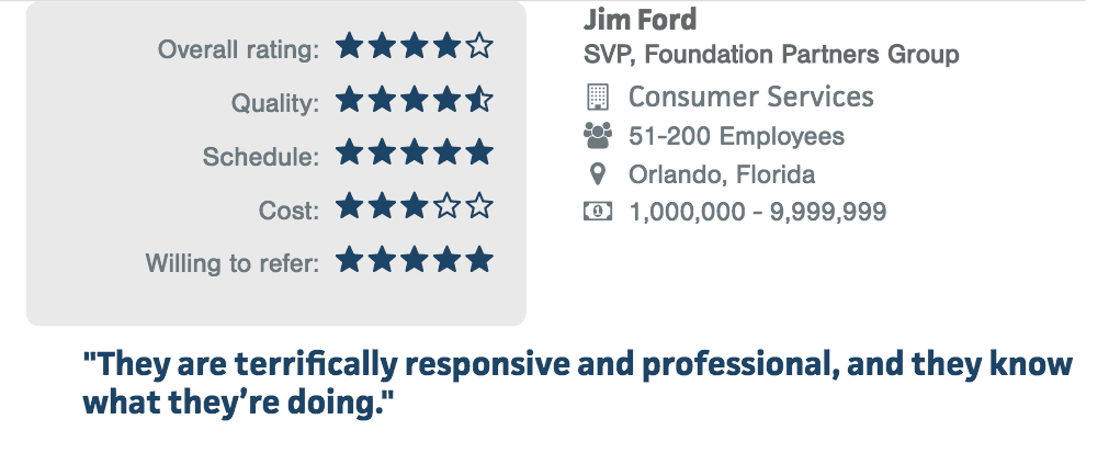 Consumer Services Clutch Review