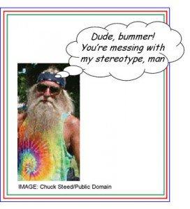 Hippie Baby Boomer Stereotype