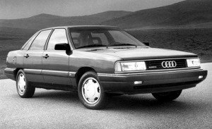 Audi 5000 sudden acceleration issue