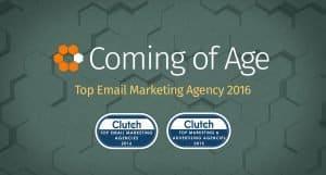 Clutch Award Top Email Marketing Agency