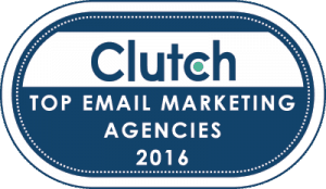Clutch Email Marketing Agency Award 2016