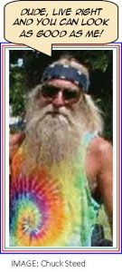 Organic hippie