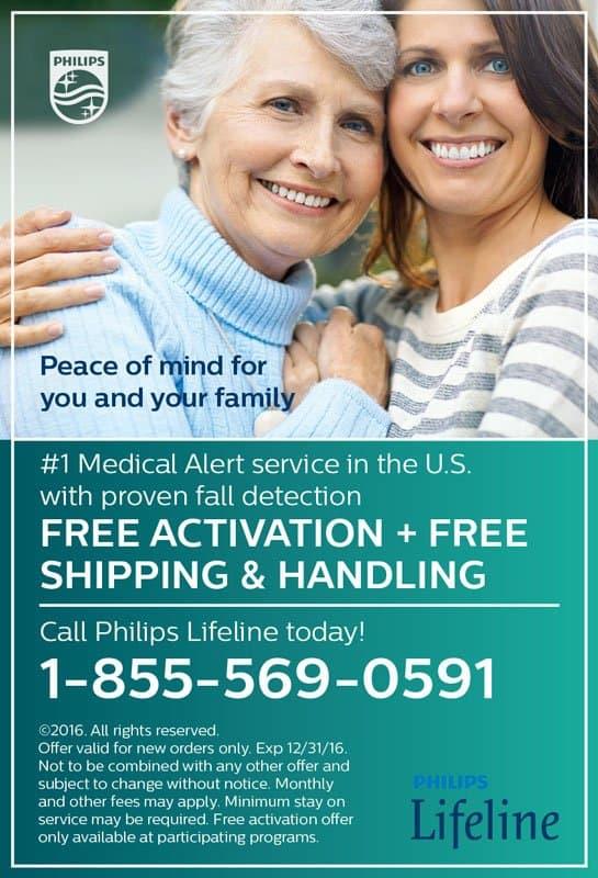 Philips Lifeline Print Ad Children of Seniors
