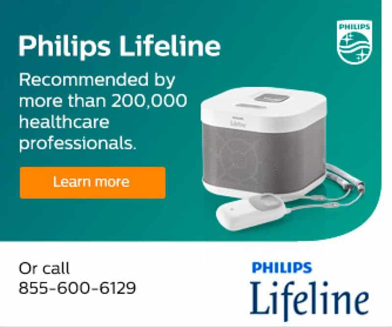 Philips Lifeline Product Banner Ad