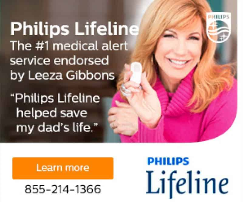 Philips Lifeline Leeza Gibbons Display