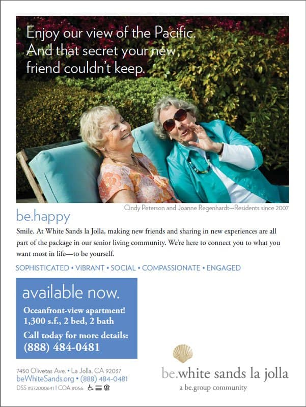 be.group Be Happy Print Ad