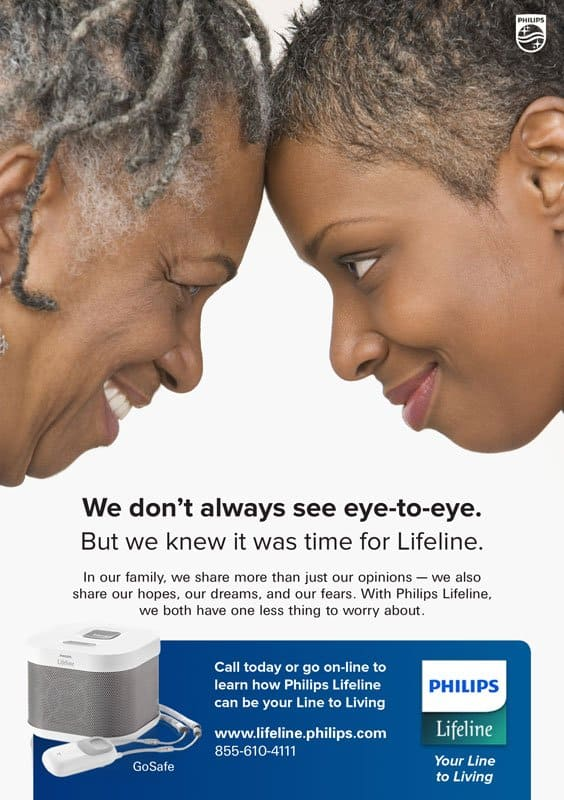 Philips Lifeline Eye to Eye