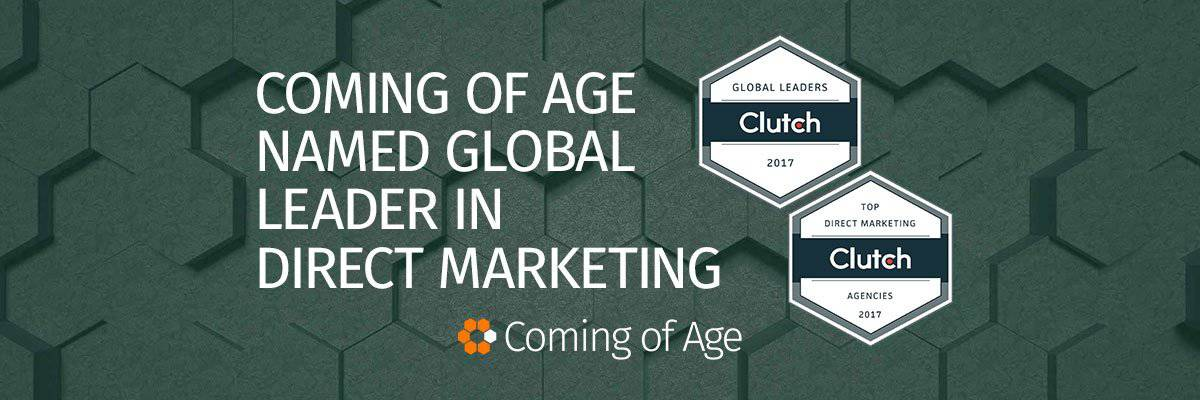 Coming of Age Named Global Leader in Direct Marketing