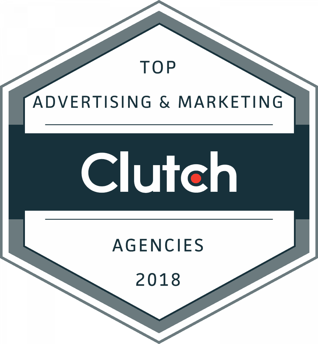 Clutch Top Advertising and Marketing Agency Award