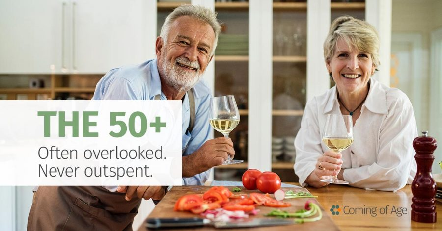 The 50-plus - Often overlooked - Never outspent