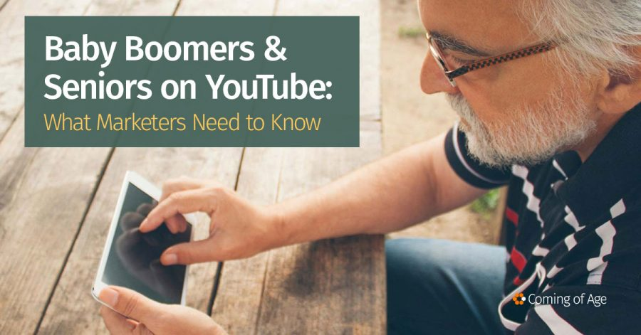 Baby Boomers and Seniors on YouTube - What Marketers Need To Know