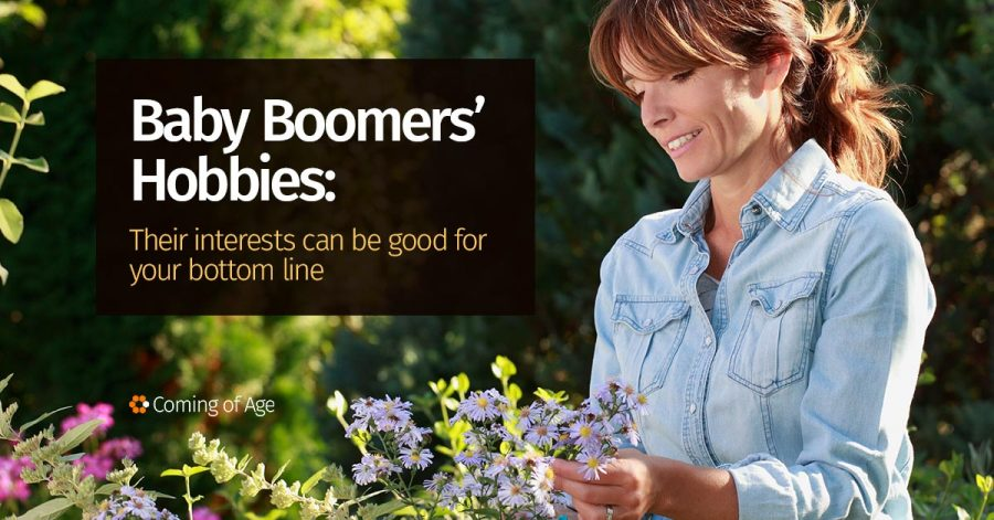 Baby Boomers' Hobbies